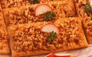 Crostini con senape, noci e miele